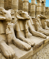 Ancient ruins of Karnak