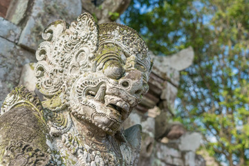 Bali statue in Taman Ayun temple