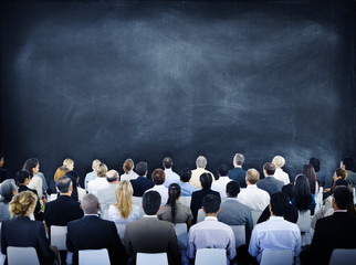 Group of Diverse Business People in a Seminar