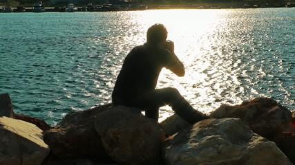 Photographer near the Seaside