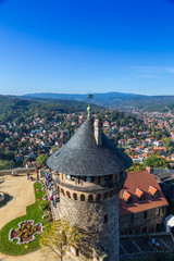 Over the roofs of Wernigerode