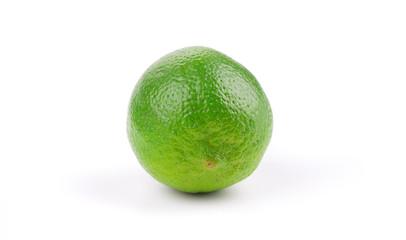 Whole fresh lime.