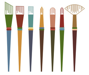 Vector of Paintbrush
