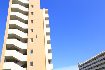 東京の公営住宅 青空