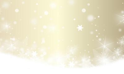 winter landschaft schnee banner gold
