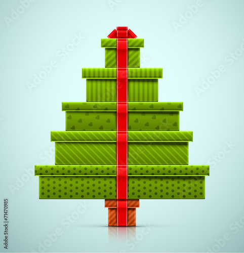 Christmas Tree of Gifts