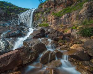 Slow Shutter Water Stream at Lesmurdie Waterfalls