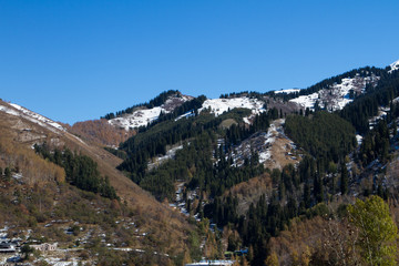 mountain gorge