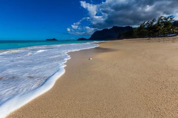 Paradise beach in Hawaii