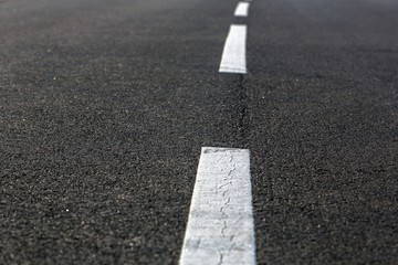 Asphalt of a road