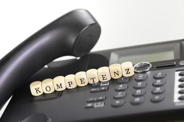 Kompetenz am Telefon