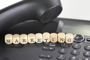 Merketing am Telefon