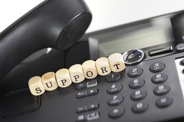 Support am Telefon