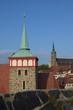 canvas print picture - Michaeliskirche in Bautzen
