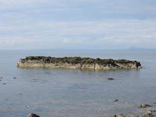 Island off North Berwick