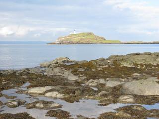 Lighthouse on Fidra Island