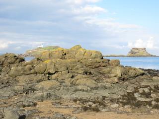 Rocks on Yellowcraig beach