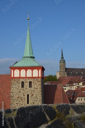 canvas print picture Michaeliskirche in Bautzen