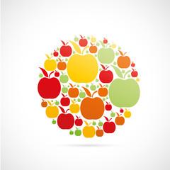 picto pommes