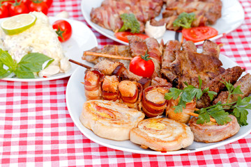 Grilled meat - specialty grilled