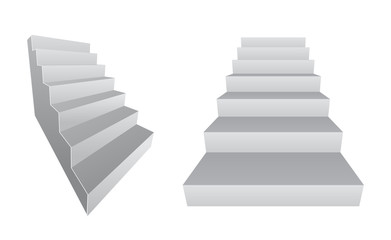 stair 3d design icon
