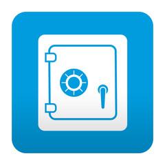 Etiqueta tipo app caja de seguridad