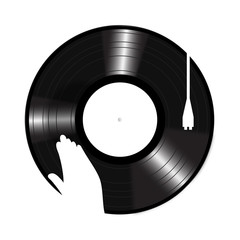 Turntable Icon vector