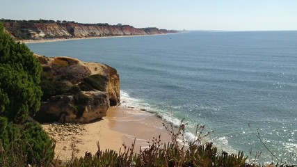 Algarve beach scenario
