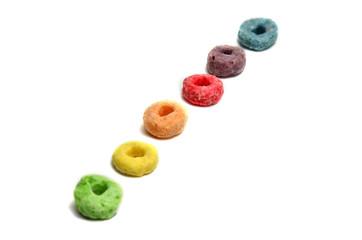 Cereales con sabor a frutas