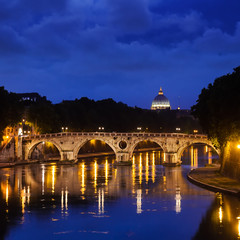 Ponte Sisto and St. Peter's basilica