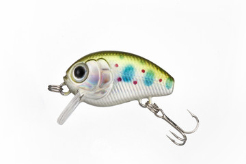 fishing lure with a sharp three hook