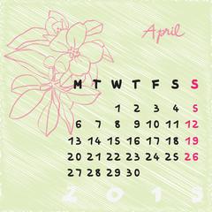 april 2015 flowers