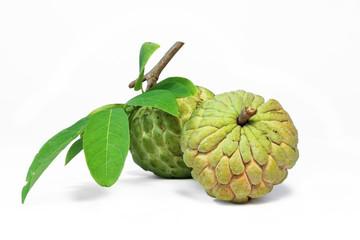 Custard apple or Annona squamosa ,fragrant and sweet fruit.