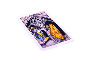 タロットカード  ペンタクル3