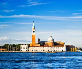 The church and monastery at San Giorgio Maggiore in the lagoon o