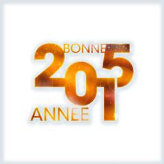 Bonne année 2015 bleu