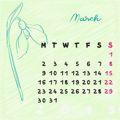 march 2015 flowers