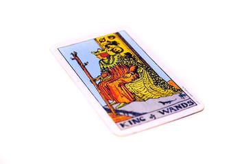 タロットカード ワンド キング