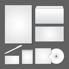 Office supply set design
