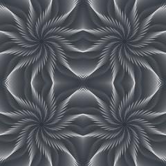 Vortex Vector Seamless Pattern