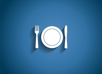 Food and Drink  Glossy Icon Vector Illustration