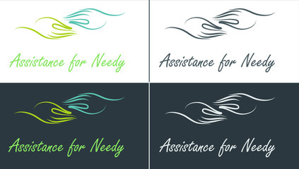 Logo help, care for needy