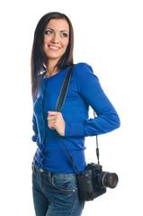 Photographer woman