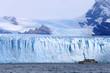 Cruise ship boat near glacier in Patagonia, Argentina