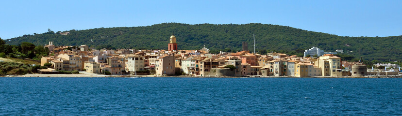 Saint Tropez - Panoramic view