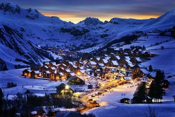 Saint-Jean d'Arves, alps, France