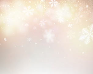 Blurred christmas background.
