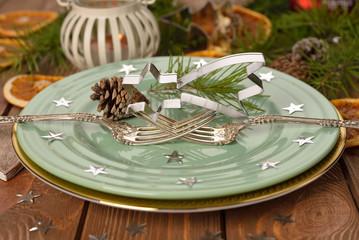 festive cutlery