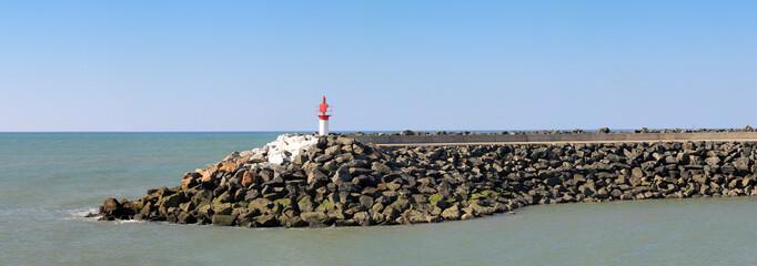 Bout de la jetée de Port-Bourgenay
