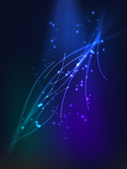 Abstract background with colorful plasma vector illustration